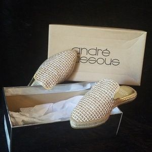 Andre Assous Gold Weave